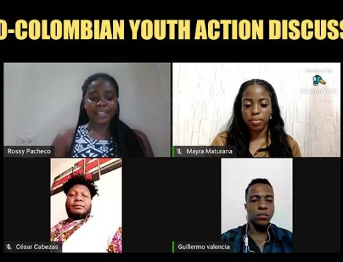 PAC Co-Hosts Afro-Colombian Youth Action Discussion